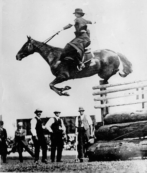 Sidesaddle Jump