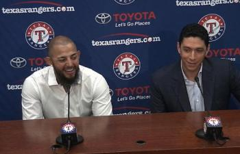 Texas Rangers Player's Contract Includes Horses