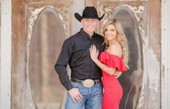 Tuf Cooper and Tiffany McGhan Engagement Photos